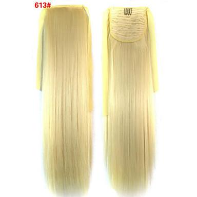 Synthetische Haare Haarstück Haar-Verlängerung Glatt