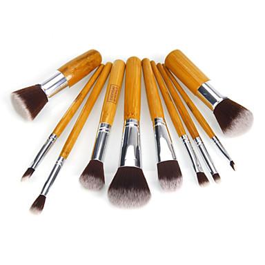 10 Stück Professional Makeup Bürsten Bürsten-Satz- Nylon Pinsel Umweltfreundlich Klassisch