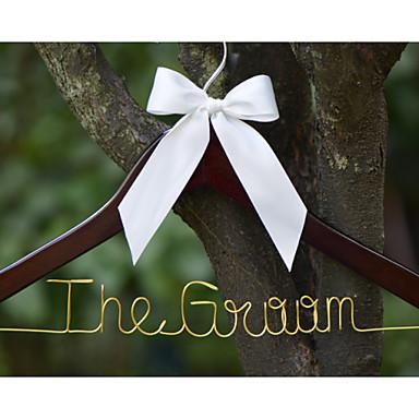 Mariée Marié Fille d'honneur Groom Cortège fille Couple Parents Bois Aluminum Alloy Cadeau créatif Mariage