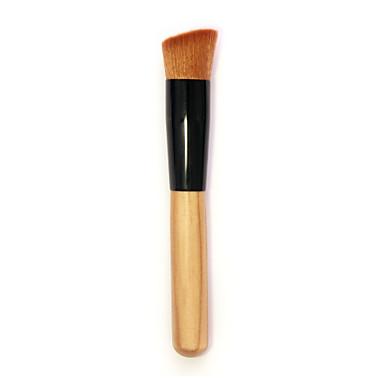 νέα καλλυντικά βούρτσα μακιγιάζ υγρό πρόσωπό θεμέλιο σκόνη πλάγια βούρτσες εργαλείο