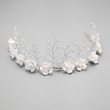 Krystall / Imitert Perle / Legering pannebånd med 1 Bryllup / Spesiell Leilighet Hodeplagg