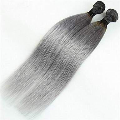 Ombre Βραζιλιάνικη Drept 3 Κομμάτια υφαίνει τα μαλλιά