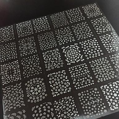 30 Sticker Manucure  Autocollants 3D pour ongles Fleur Abstrait Maquillage cosmétique Manucure Design