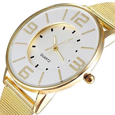 Women's Wrist Watch Casual Watch Alloy Band Casual / Elegant / Fashion Gold