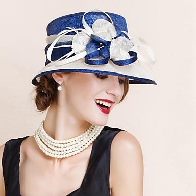 Women s Flax Headpiece - Wedding Special Occasion Hats 1 Piece ... 741cab4991e