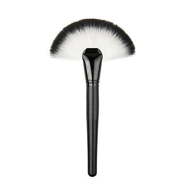 Soft New Makeup Large Fan Blush Brush Powder Foundation Make Up Tool Contour