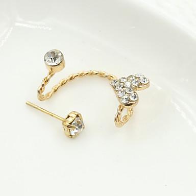 Naušnica Sitne naušnice / Viseće naušnice Jewelry 1pc Legura / Kubični Zirconia / Platinum Plated Žene Zlatna / Srebrna