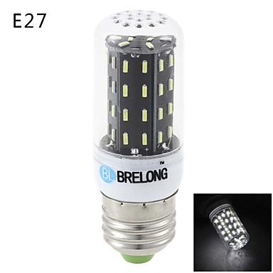E14 G9 E26/E27 LED Mısır Işıklar T 56 led SMD 3014 Sıcak Beyaz Serin Beyaz 900lm 3000-3500  6000-6500K AC 220-240V