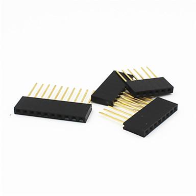 6p / 8P / 10p 2,54 mm 11 mm verlängern Buchsenleiste für Arduino UNO r3