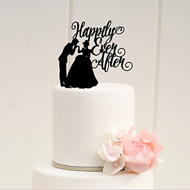 Cake Topper Fairytale Theme Acrylic Wedding Anniversary Bridal Shower With 1 OPP 4214658 2018 799
