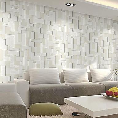 Art Deco Haus Dekoration Moderne Wandverkleidung, Nicht-gewebtes Papier Stoff Klebstoff erforderlich Tapete, Zimmerwandbespannung