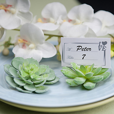 Succlent Place Card Holder(set of 2,Each style 1) Wedding Reception