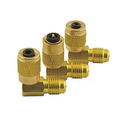 Автомобиль кондиционер 1/8 pt женщина 1/8 pt мужской регулируемым быстро разъем адаптера для навесного золотые тона 8 в 1 комплект