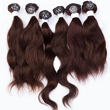 Człowieka splotów włosów Włosy indyjskie Naturalne fale 12 miesięcy sploty włosów