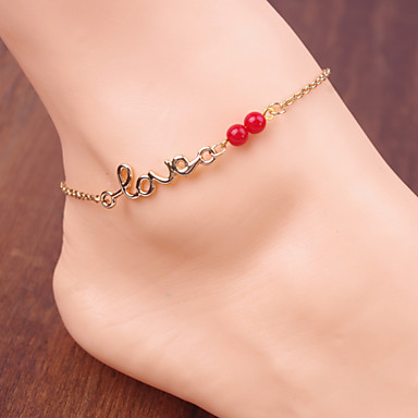 Monograms Anklet - Love Vintage, Party, Work Screen Color For Daily / Women's
