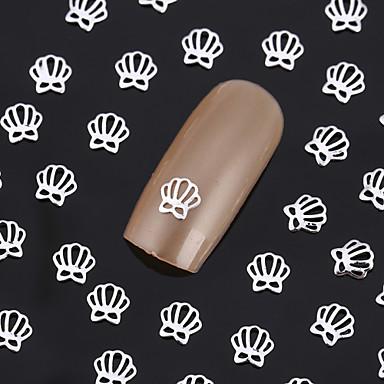 Smuk Neglekunst Manikyr pedikyr Metall Abstrakt / Klassisk / Punk Daglig / Nail Smykker