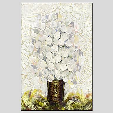 Hang malte oljemaleri Håndmalte - Still Life Europeisk Stil Moderne Lerret