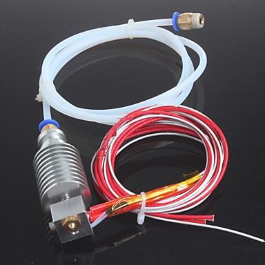 Langstrecken-3D-Drucker j-Kopf Hotend für 1.75mm E3D Bowden Extruder 0,4 mm Düse mit PTFE-Schlauch Rampen 1.4