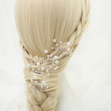 taklit inci alaşımlı saç tokası baş klasik kadınsı stil