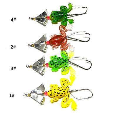 4 pcs leurres de pêche Cuillères g / 1/4 Once/pc mm / 3-1/2