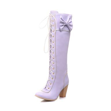 à pointu Femme Chaussures Bottier Rose 04267118 50 Faux Automne cm Talon 8 Violet 45 Hiver Bottes Cuir Bout 72 Marron PwqPrd8