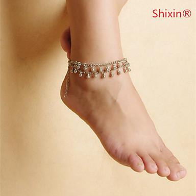 Łańcuszek na kostkę - Unikalny, Europejski, minimalistyczny styl Silver Na Casual / Damskie