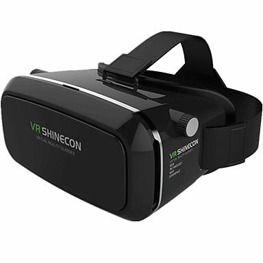 Neuartige Brillen Kunststoff Durchsichtig VR Virtual Reality Brille Oval