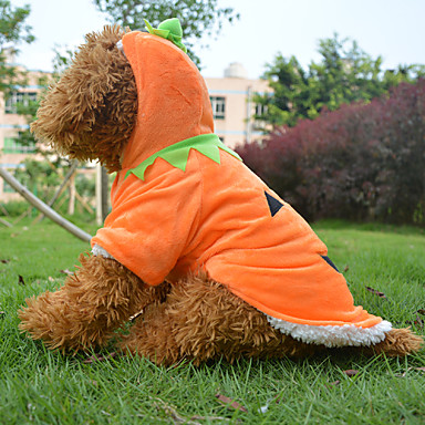 Dog Costume Coat Outfits Dog Clothes Cosplay Halloween Cartoon Yellow Costume For Pets