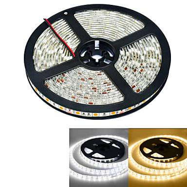 300 LED'ler Sıcak Beyaz Beyaz Su Geçirmez DC 12V