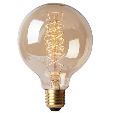 BriLight 1pc 40 W E26 / E27 / E27 G95 Incandescent Vintage Edison Light Bulb 220-240 V