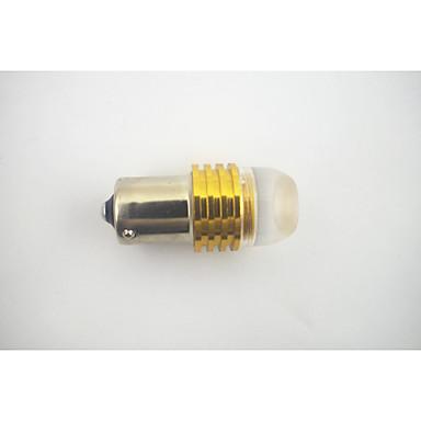 BA15s / 1.156 1.5w1-cob doprowadziły żółte światło (12v)