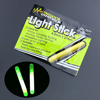 10PCS 낚시 밤 형광등 플로트 글로우 스틱 4.5 * 39mm 높은 품질의 낚시 도구 lightstick
