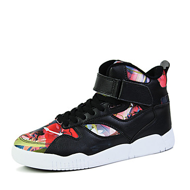 Sapatos Basquete Masculino Preto / Branco / Colorido Courino