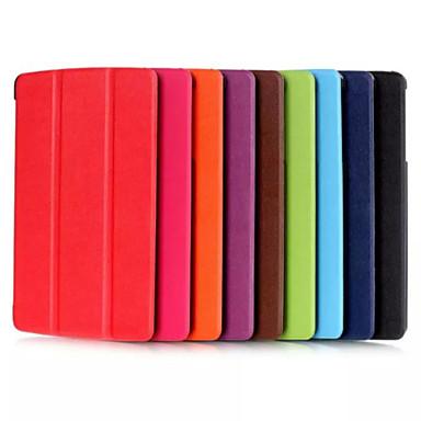 PU bőr Tömör szín Tablet tokok LG / 8