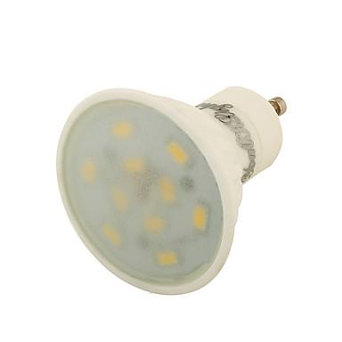 GU10 LED szpotlámpák A50 10 led SMD 5730 Dekoratív Meleg fehér 450lm 3000K AC 220-240 AC 110-130V