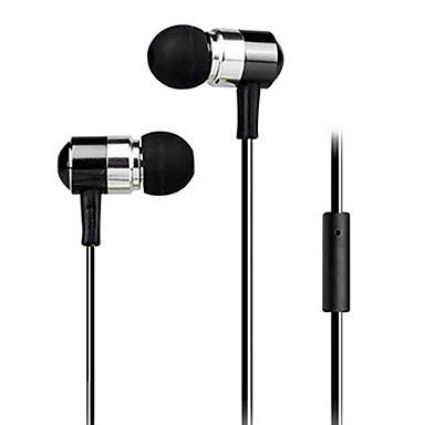 În ureche Cablu Căști Plastic Telefon mobil Cască Cu Microfon / -Izolarea zgomotului Setul cu cască