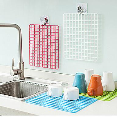 Meyve ve sebze lavabo dolabı ped rastgele renk tahliye