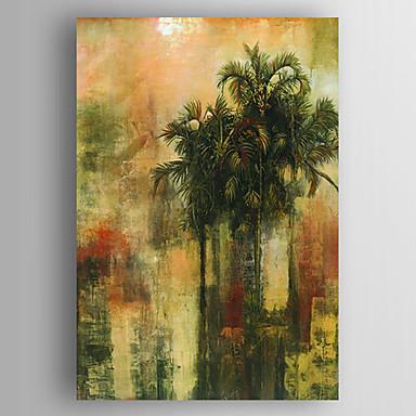 Maalattu Maisema Pysty, Moderni Kangas Hang-Painted öljymaalaus Kodinsisustus 1 paneeli