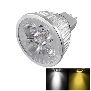 YouOKLight 400 lm GU5.3(MR16) LED Spotlight MR16 4 leds High Power LED Dimmable Decorative Warm White Cold White DC 12V