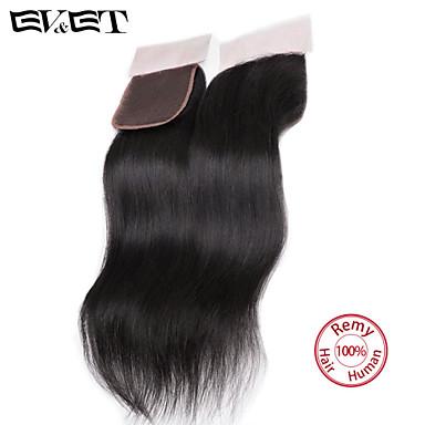 14 Doğal Siyah (#1B) Rovné Gerçek Saç kapatma Orta Kahverengi İsveç Danteli 36g gram kap Boyut