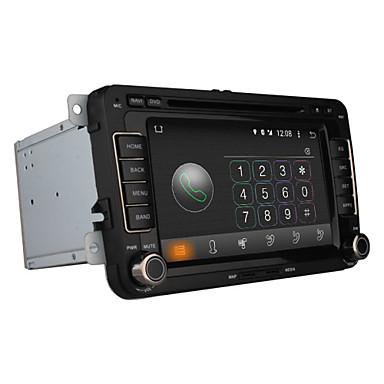 7 tommers 2 Din Android 4.4 I-Instrumentpanel Innebygget Bluetooth / GPS / iPod til Volkswagen Brukerstøtte / RDS / 3D grensesnitt / Wifi