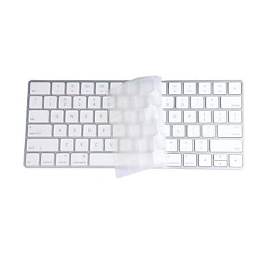 elma sihirli klavye açık tpu laptop klavye kapağı cildi koruyucu film için, bize düzen