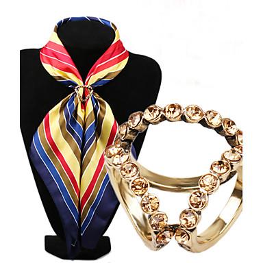 Kadın Broşlar Moda lüks mücevher Simüle Elmas alaşım Mücevher Uyumluluk Düğün Parti Özel Anlar Doğumgünü Günlük