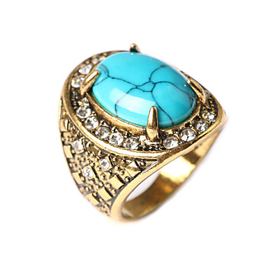 Women's Ring - Turquoise Fashion Red / Green / Blue For Daily