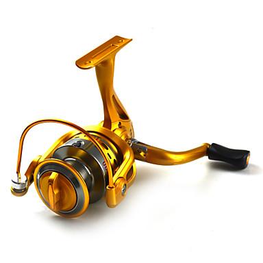 Spinning Makaralar 5.5:1 10 Rulmanlar DeğiştirilebilirDeniz Balıkçılığı / Fly Balıkçılık / Olta Yemi / Buzda Balıkçılık / Döner / Jig ile
