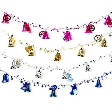 Urlaubsdekoration Feiertage & Glückwünsche Ornament Bäume Party / Weihnachten Rot / Blau / Dunkelrosa 1pc