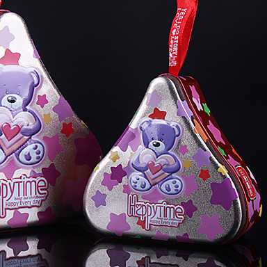 Heart-shaped Metal Favor Holder With Gift Boxes-1