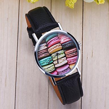 Kadın's Quartz Bilek Saati Gündelik Saatler PU Bant İhtişam / Moda Siyah