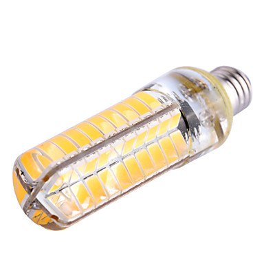 billige Elpærer-ywxlight® e11 e17 e12 8w 700-800lm ledet bi-pin lys 80led perler 5730smd dimmable led mais pære lysekrone lampe ac 110-130v ac 220-240v