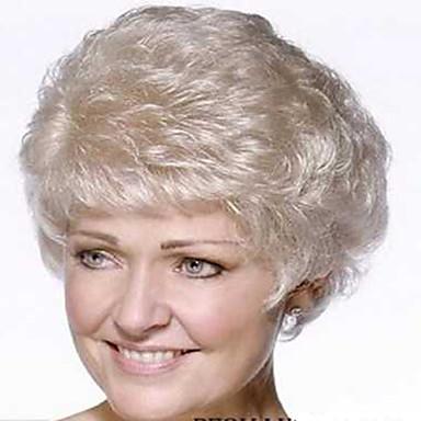 Synthetic Hair Wigs Wavy Capless Short